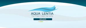 Bedrijfswebsite Aqua Lentia