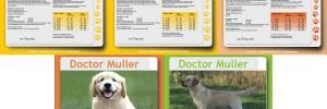 Etiketten Doctor Muller